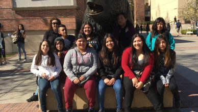 8th Grade UCLA Field Trip
